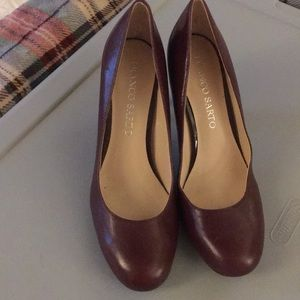 Franco Sarto Leather Pumps